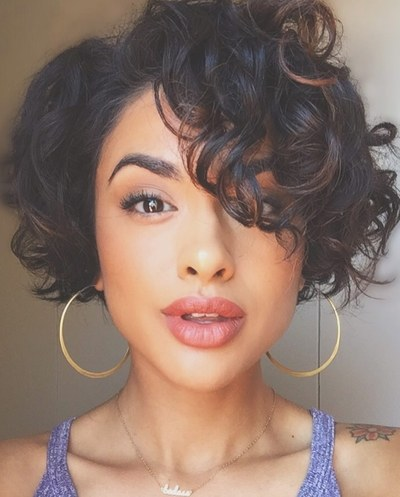 How About A Curly Pixie Cut For a Sexy New Look?
