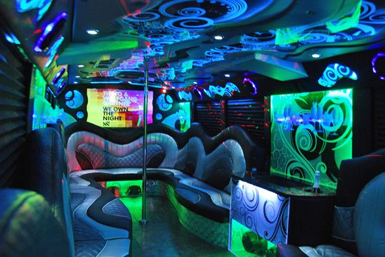 Why You Should Eat Slowly on a Party Bus